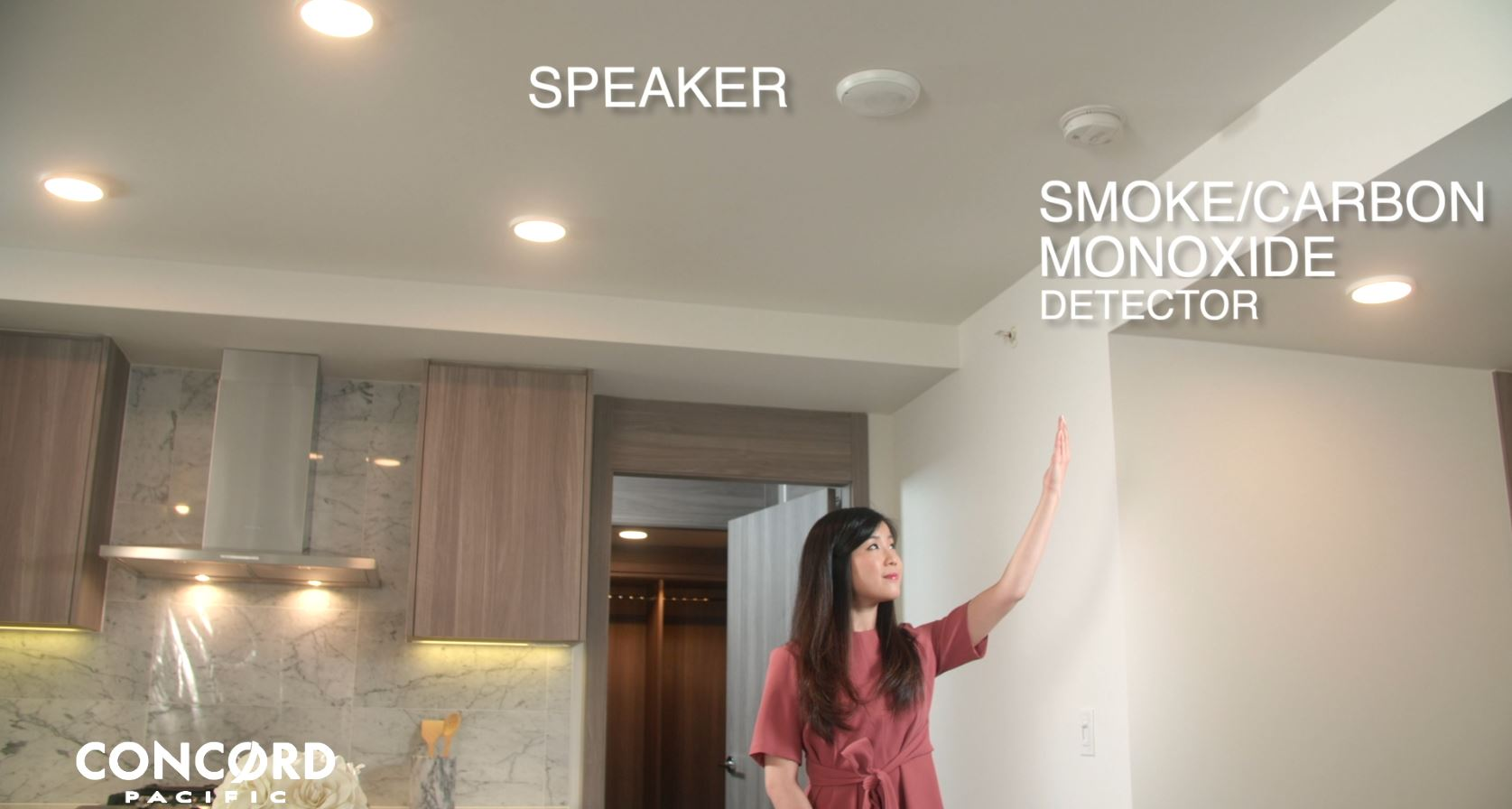 Smoke Detector & Speaker Location